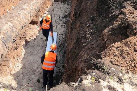 Украина начала строить узел учета воды, которая идет в ОРЛО