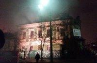 КМДА запідозрила власника будинку на Волоській у його підпалі