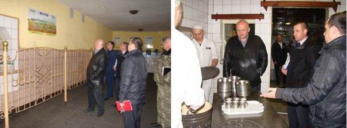 Представники облпрокуратури з візитом в Бердянській виправній колонії №77