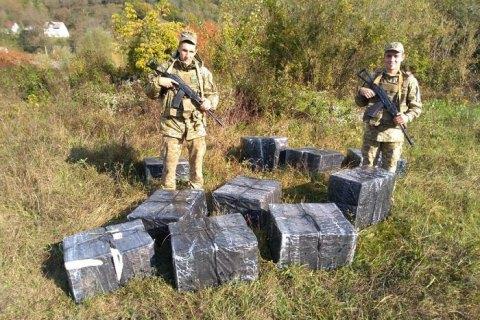 На Закарпатье пограничники задержали водолазов-контрабандистов