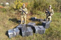 На Закарпатті прикордонники затримали водолазів-контрабандистів