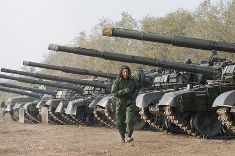 Сегодня силы АТО начнут отвод танков на Донецком направлении