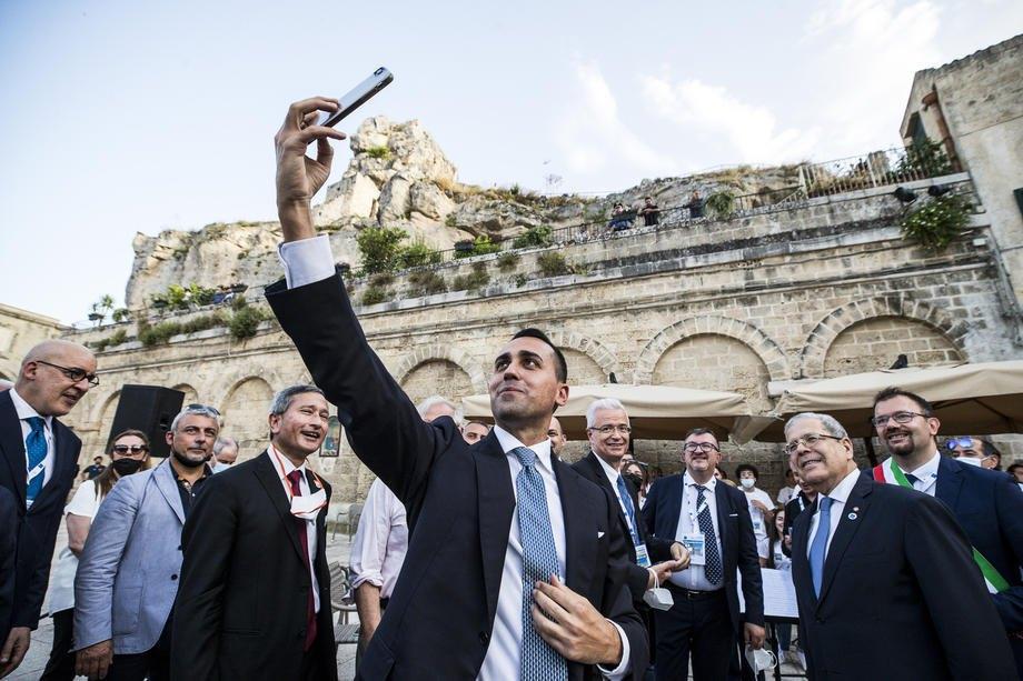 Під час зустрічі глав МЗС країн G20 у Бріндізі, на півдні Італії, 30 червня 2021 р.
