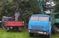На Кіровоградщині демонтували останній пам'ятник Леніну