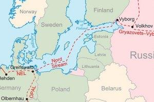"""""""Газпрому"""" не дают использовать """"Северный поток"""" на всю мощность"""