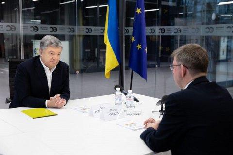 """Порошенко розповів послу Литви про політичні переслідування депутата """"ЄС"""""""