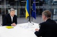 """Порошенко рассказал послу Литвы о политических преследованиях депутата """"ЕС"""""""