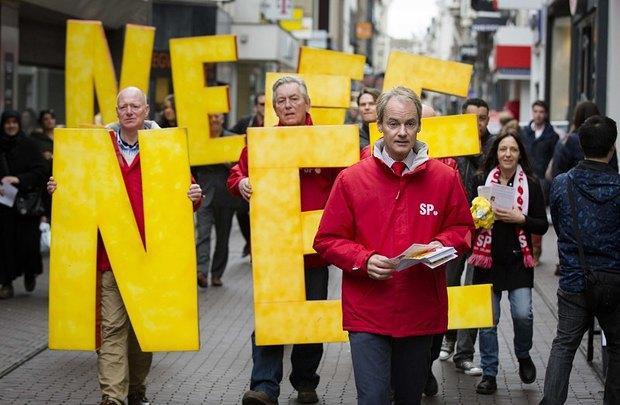Антиукраинская агитация социалистов в Гааге