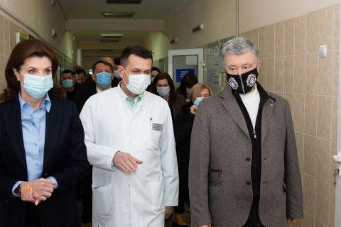 Порошенко: Украина нуждается до июня в 3 миллионах доз вакцин от коронавируса