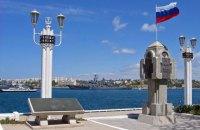 В Севастополе на выставке военной техники образовалась очередь за гречкой