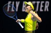 Свитолина вылетела из Australian Open
