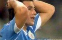 ЧМ-2010. Уругвай-Франция: скользкое поле, удар Форлана и активность Рибери