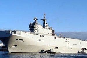 Франция продала России четыре вертолетоносца Mistral