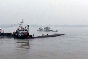 У Китаї затонуло судно з 458 людьми