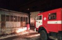 На Змиевской тепловой электрической станции произошел пожар