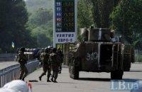 3 силовика ранены в ходе столкновений у Славянска, - Тымчук