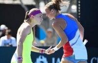 Украинское теннисное дерби в Индиан Уэллсе выиграла Бондаренко
