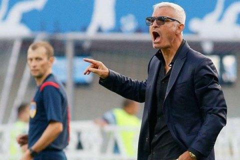"""Президент київського """"Арсеналу"""" заявив про швидке звільнення Раванеллі з поста головного тренера"""