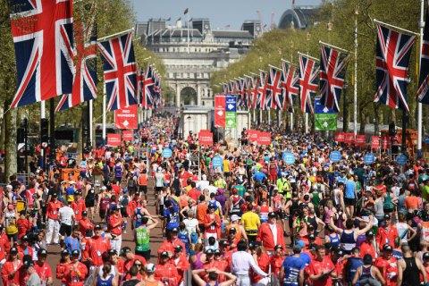 Під час Лондонського марафону помер один спортсмен