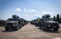 """Після параду 12 бронеавтомобілів """"Козак-2"""" поповнять підрозділи морської піхоти"""