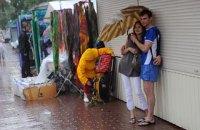 У середу температура в Києві опуститься до +24