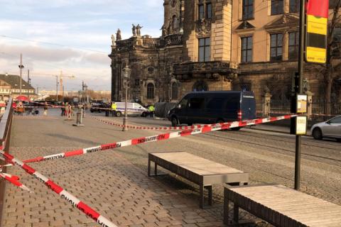 В Дрездене из известного музея украли драгоценности на 1 млрд евро