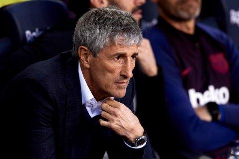 """Главный тренер """"Барселоны"""" раскритиковал план Ла Лиги по возобновлению чемпионата"""