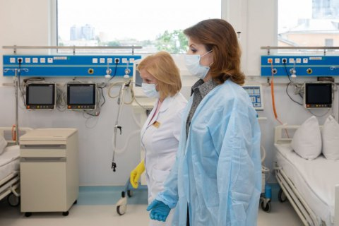 Марина Порошенко: потрібен алгоритм для обмеження поширення коронавірусу