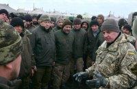 "Муженко оценил условия бойцов 53-й бригады на полигоне ""Широкий Лан"""