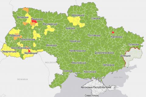 Степанов объяснил, почему ЦОЗ ошибочно отнес Харьков к красной зоне