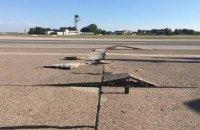 В аэропорту Ганновера из-за жары треснула взлетно-посадочная полоса