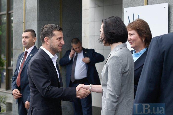 Під час запуску Вищого антикорупційного суду в Києві, 5 вересня 2019 року.