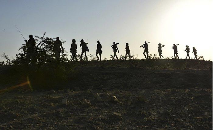 Солдати Народного фронту визволення Тиграю