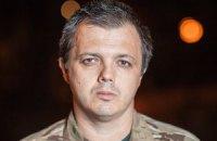 """Семенченко: сепаратисты удерживают в плену 100 бойцов батальона """"Донбасс"""""""