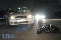 ДТП в Киеве: под колесами Daewoo Sens погиб мужчина