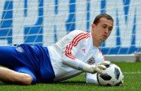 Вратарь сборной России по футболу был задержан в аэропорту за пьяный дебош