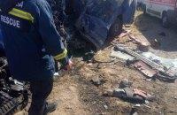 Під Одесою маршрутка зіткнулася з вантажівкою, 9 загиблих
