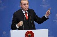 Ердоган заявив про продовження операції в Сирії