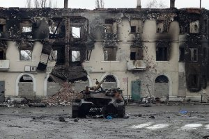 Силы АТО оставили Углегорск, город практически уничтожен