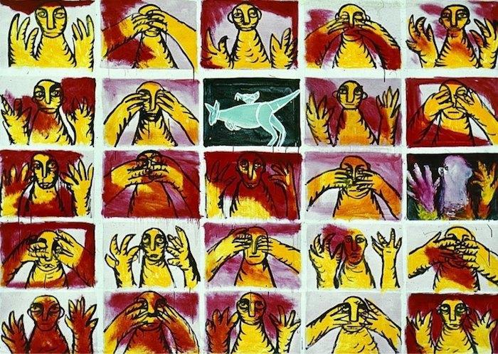 Олег Голосий. «24 сюжета и их кенгуру», 1990