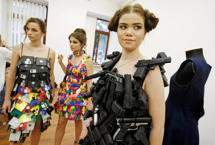 У Києві пройшов показ еко-одягу з вторсировини (фото)