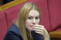 Депутатку Скороход вместе с ребенком госпитализировали из-за коронавируса