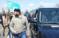 В Армянске возникла потасовка в связи с прибытием Джемилева