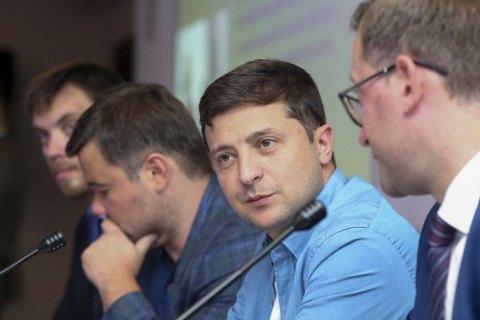 Зеленский выразил надежду, что обмен удерживаемых лиц произойдет в ближайшее время
