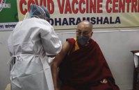 Далай-лама зробив щеплення від ковіду