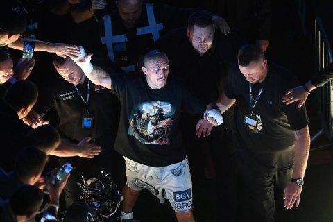 Двоє великих хлопців вийшли на ринг убити один одного, - Усик про бій Ф'юрі - Вайлдер