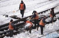 Скоростной поезд Запорожье - Киев сломался в дороге из-за мороза