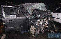 Работники прокуратуры на BMW X5 устроили беспредел на Харьковском шоссе в Киеве