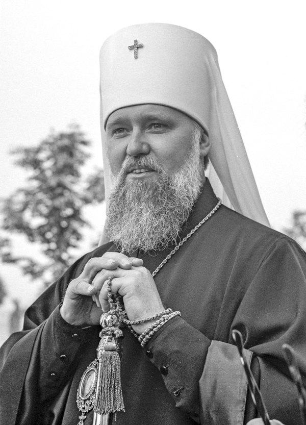 Митрополит Київський і Галицький, патріарший екзарх України Філарет, Київ, 1971 рік.