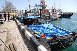 Крымские пограничники задержали турецких ловцов камбалы